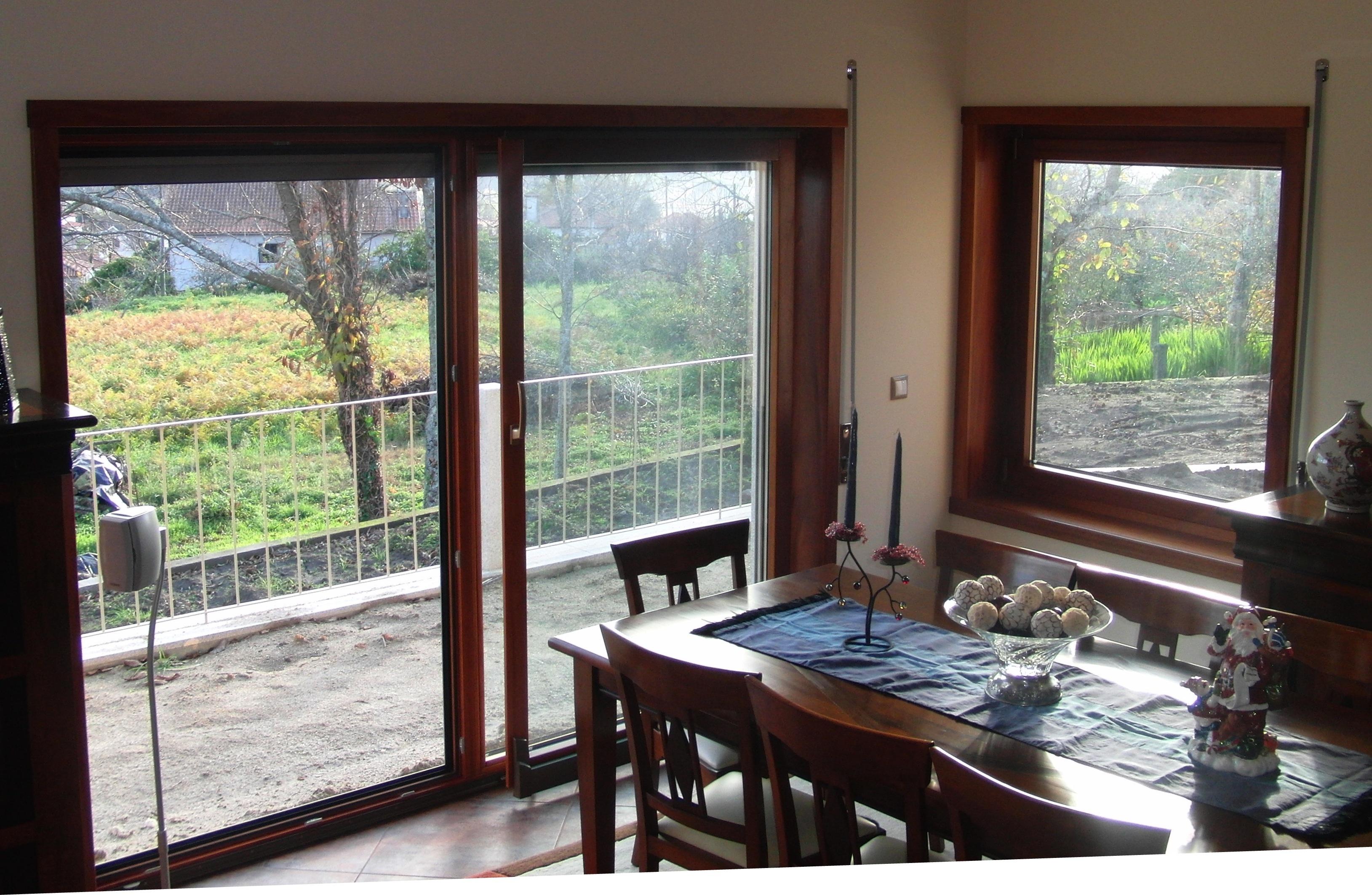 CAIXILHARIA MADEIRA janela em madeira corredora paralela janela  #818744 3258 2125